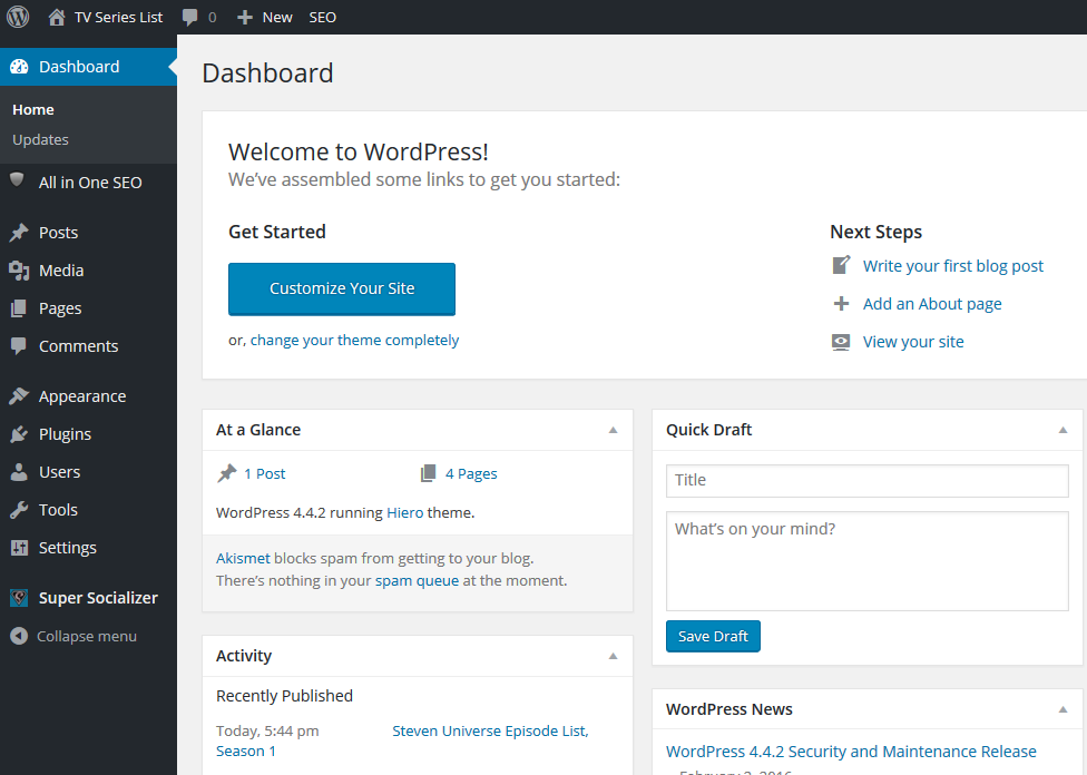 How to add pictures to WordPress